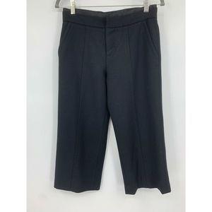 Marc jacobs pants 4 cropped black wide leg
